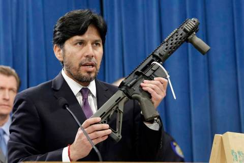 In this Jan. 13, 2014 file photo, former California State Sen. Kevin de Leon, D-Los Angeles, di ...