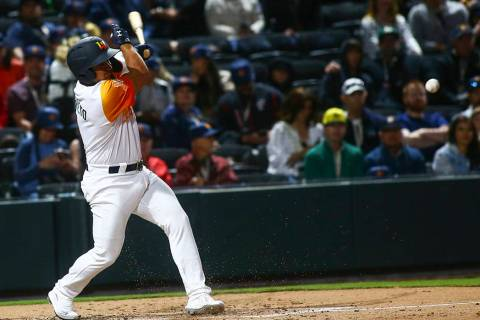 Las Vegas Aviators second baseman Franklin Barreto (Las Vegas Review-Journal)