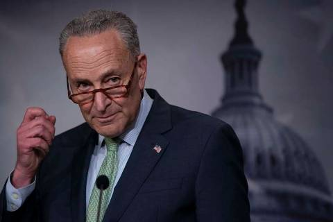 Senate Minority Leader Chuck Schumer, D-N.Y., said Sunday, Aug. 11, 2019, that he is introducin ...