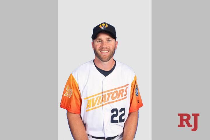 Las Vegas Aviators first baseman Eric Campbell (Las Vegas Aviators)