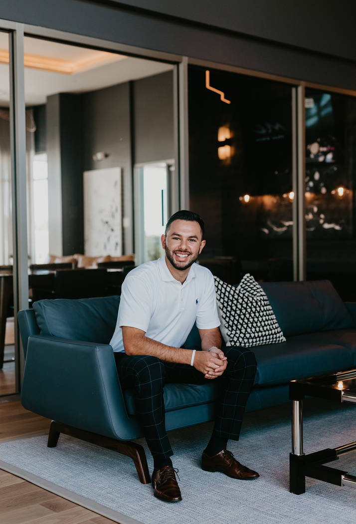 Roberto Orellana, a young gaming sales executive, is among the first residents to move into Tan ...