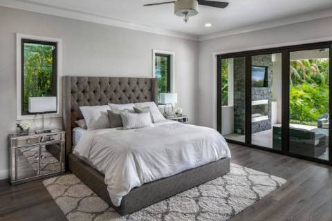 A great upholstered headboard brings texture and comfort to the bedroom. (Houzz)