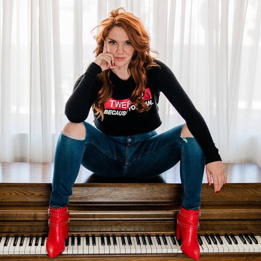"""Sarah Hester Ross is the creator and star of """"Pianos to the Death,"""" making its Vegas debut on F ..."""