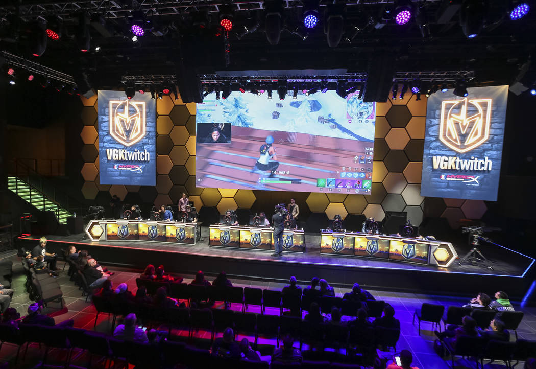 """Vegas Golden Knights players Alex Tuch, Malcolm Subban and William Karlsson play """"Fortnite ..."""