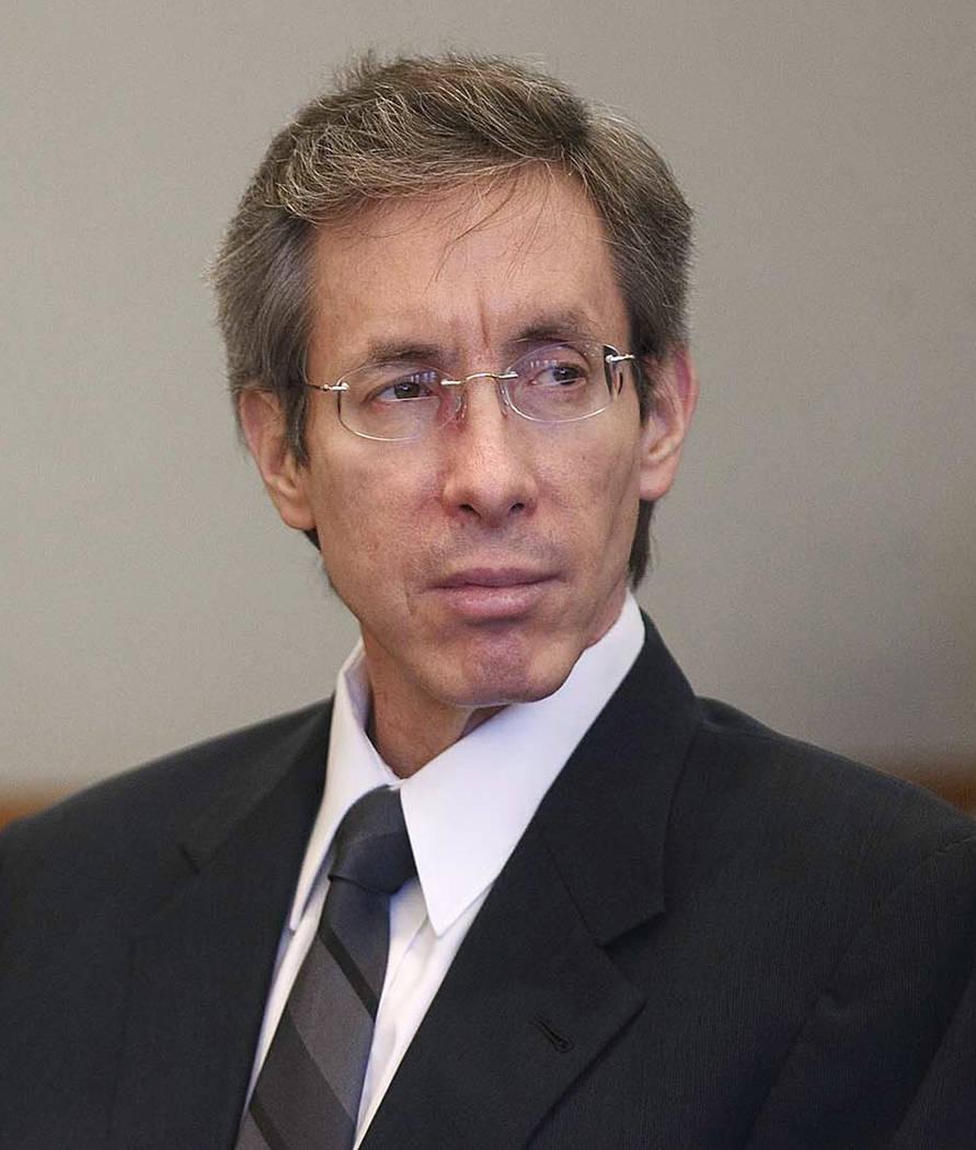 FILE - In this Nov. 15, 2010 file photo, Warren Jeffs sits in the Third District Court in Salt ...