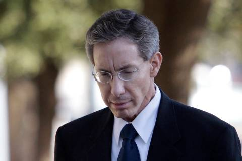In this July 28, 2011 photo, Polygamist sect leader Warren Jeffs arrives at the Tom Green Count ...