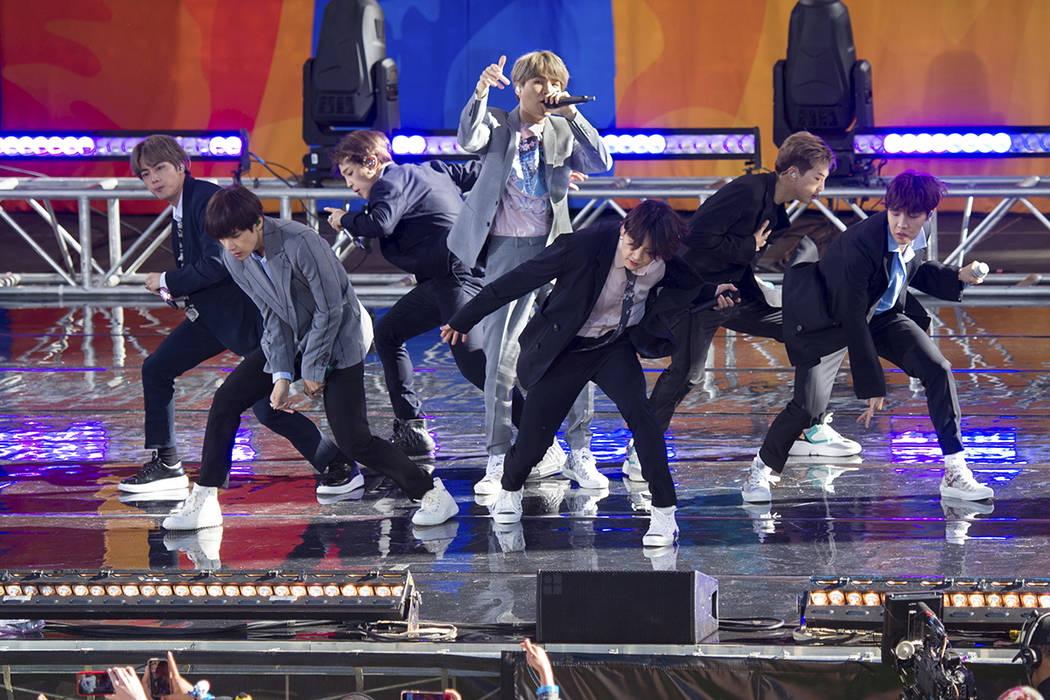 K-pop superstar group BTS will take 'extended' break | Las Vegas