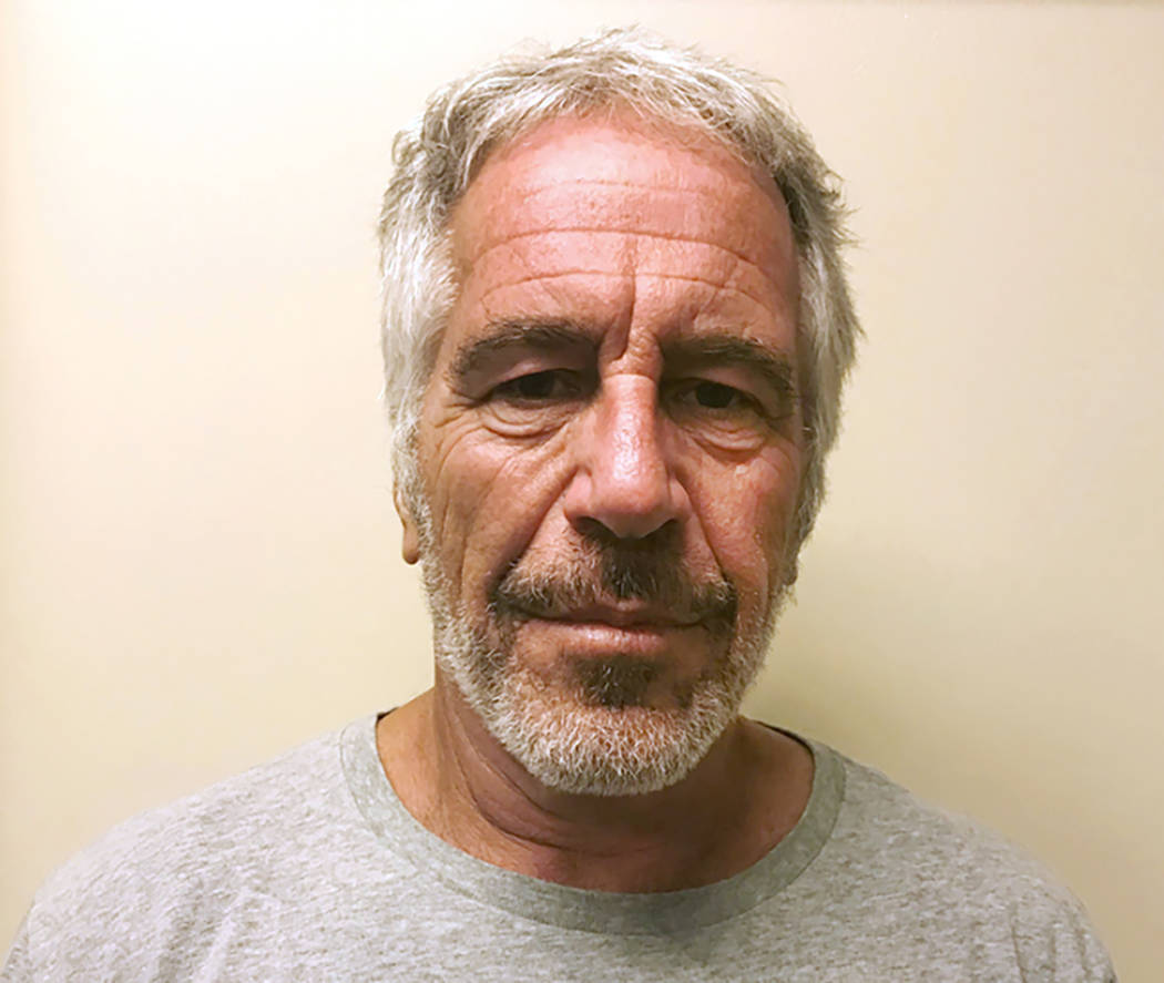 A March 28, 2017, file photo, provided by the New York State Sex Offender Registry shows Jeffre ...