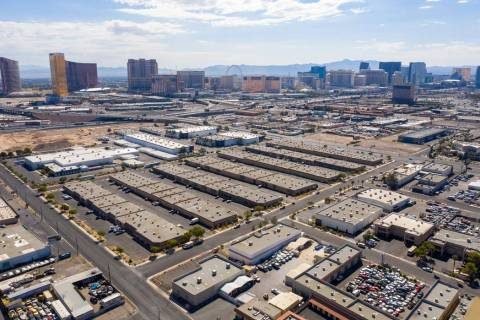 MCA Realty said it purchased Las Vegas industrial complex Equus Business Center, seen here, for ...