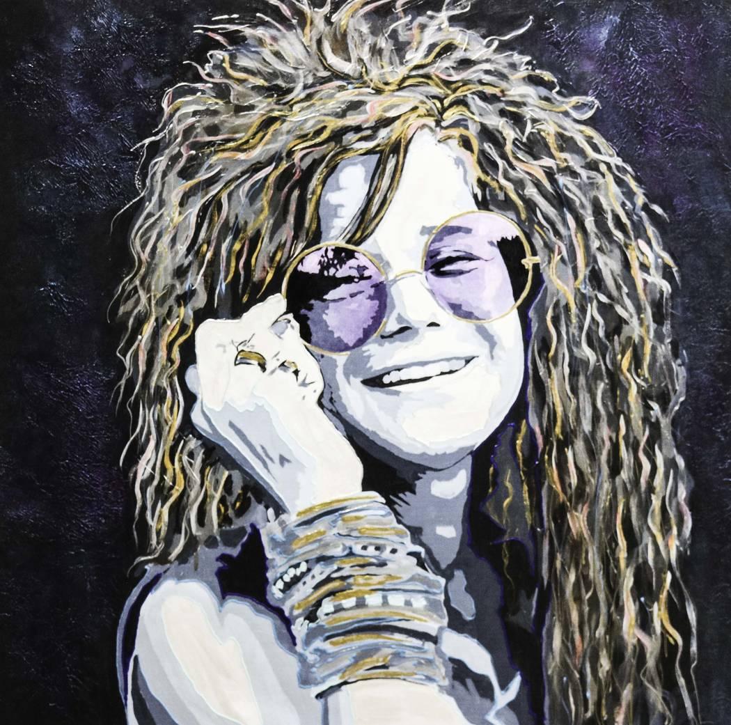 """""""Janis Joplin"""" by Rick Allen"""