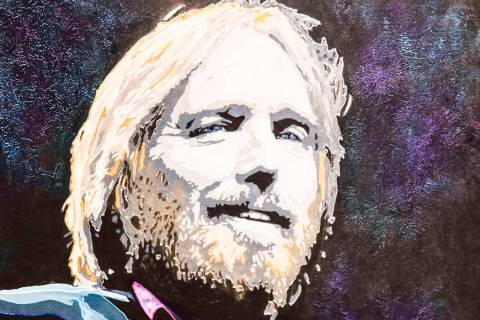 """Tom Petty"" by Rick Allen"