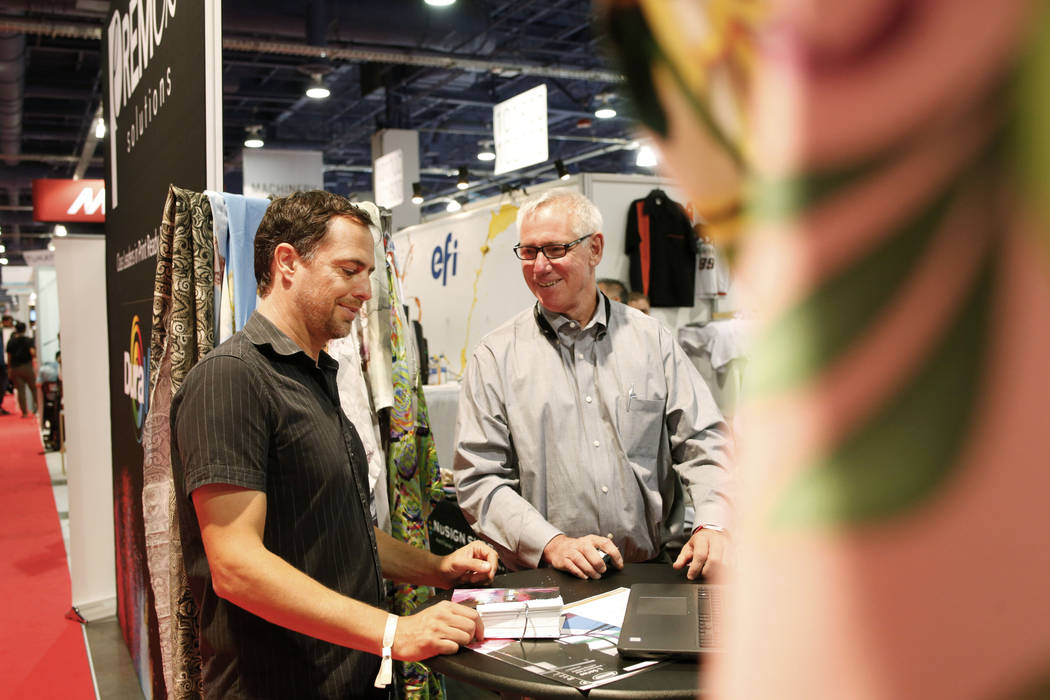Tek Tailer Founder and Chief Executive Steffen Kuehr, left, and Mark Sawchak, partner at digita ...