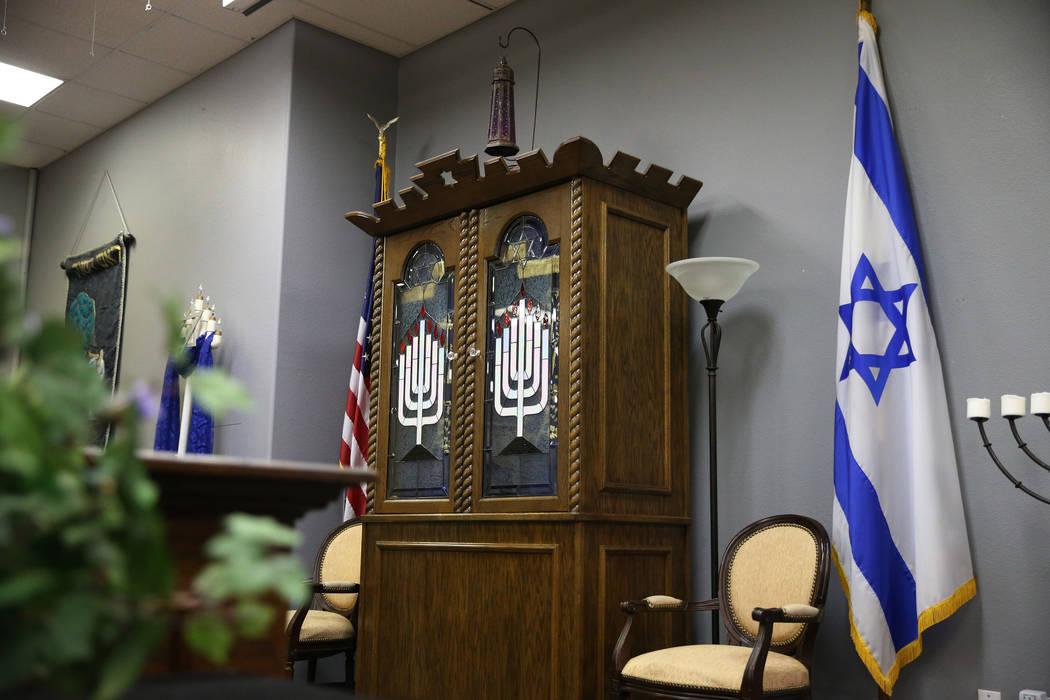 Inside the Lev HaShem Messianic Synagogue in Las Vegas, Tuesday, Aug. 13, 2019. (Erik Verduzco ...