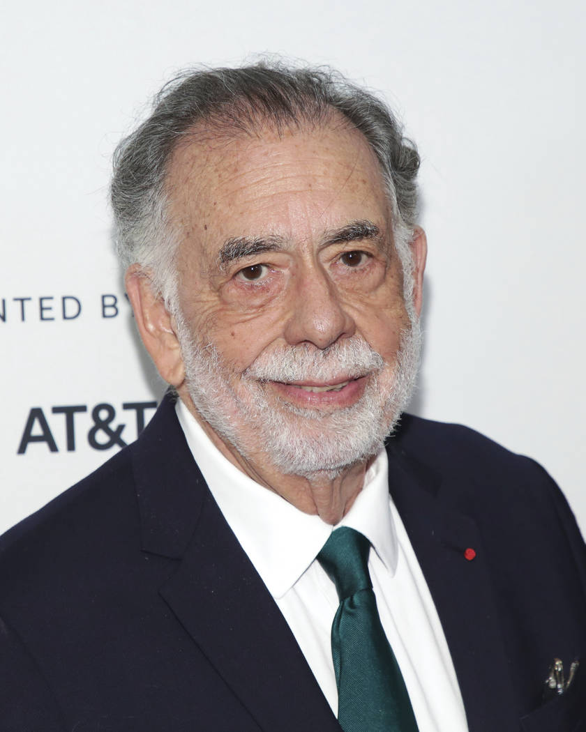 In this Sunday, April 28, 2019 file photo, director Francis Ford Coppola attends a screening of ...