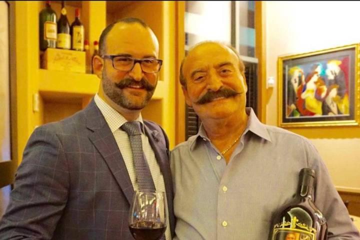 Gaetano Palmeri, right, with his son, Nick. (Palmeri family)
