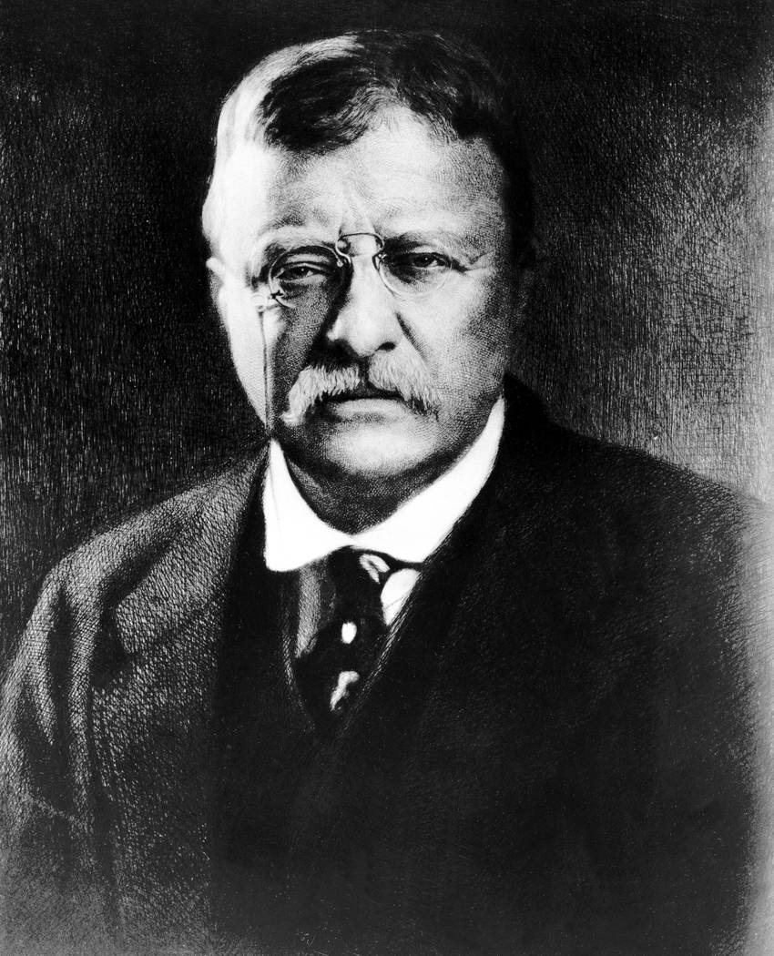 Theodore Roosevelt, the 26th president of the United States, is seen in this undated picture. ...