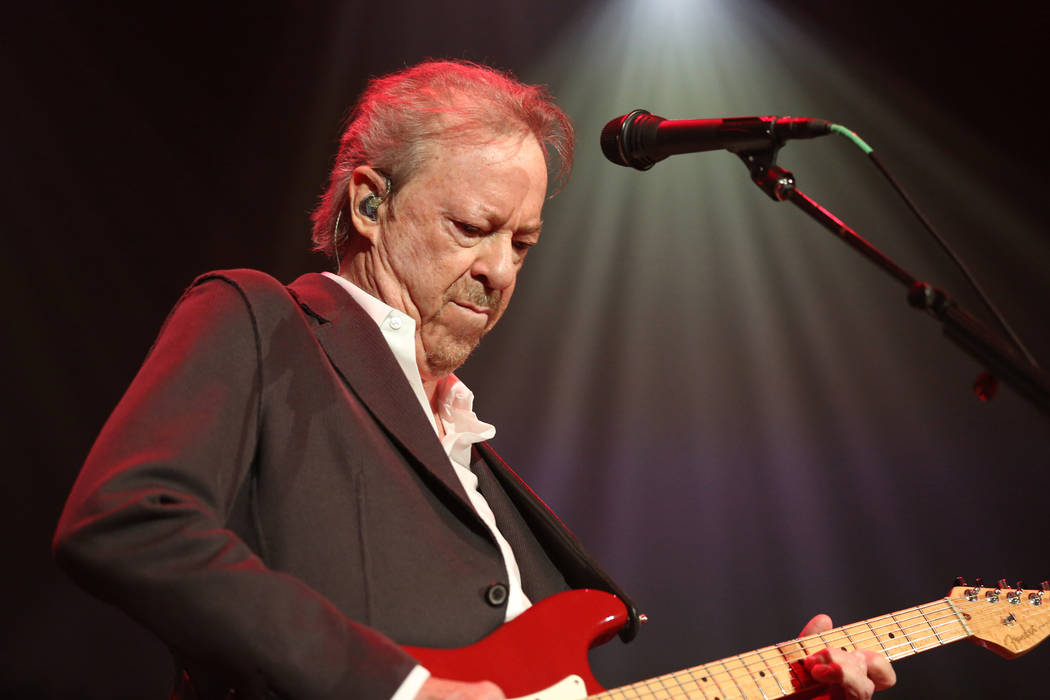 Artist Boz Scaggs performs at the Dylan Fest at Ryman Auditorium on Monday, May 23, 2016, in Na ...