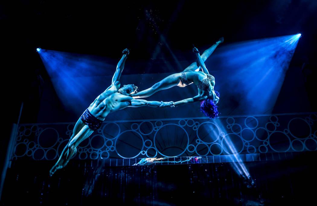 "A scene from ""Blanc de Blanc,"" opening for previews this weekend at SLS Las Vegas. (Pamela Rait ..."