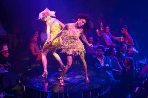 "A scene from ""Blanc de Blanc,"" opening for previews this weekend at SLS Las Vegas. (Daniel Boud)"