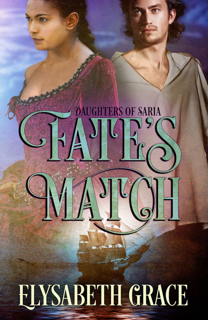 """The book cover is shown for """"Fate's Match."""" (Margo Hendricks)"""