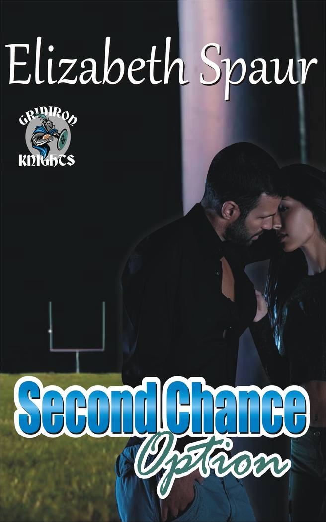 "The book cover is shown for ""Second Chance Option."" (Elizabeth Spaur)"