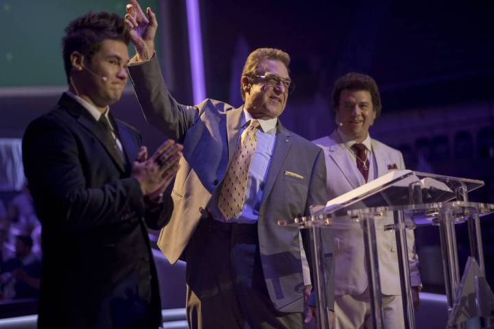 "Adam DeVine, John Goodman, Danny McBride in ""The Righteous Gemstones."" (Fred Norris/HBO)"