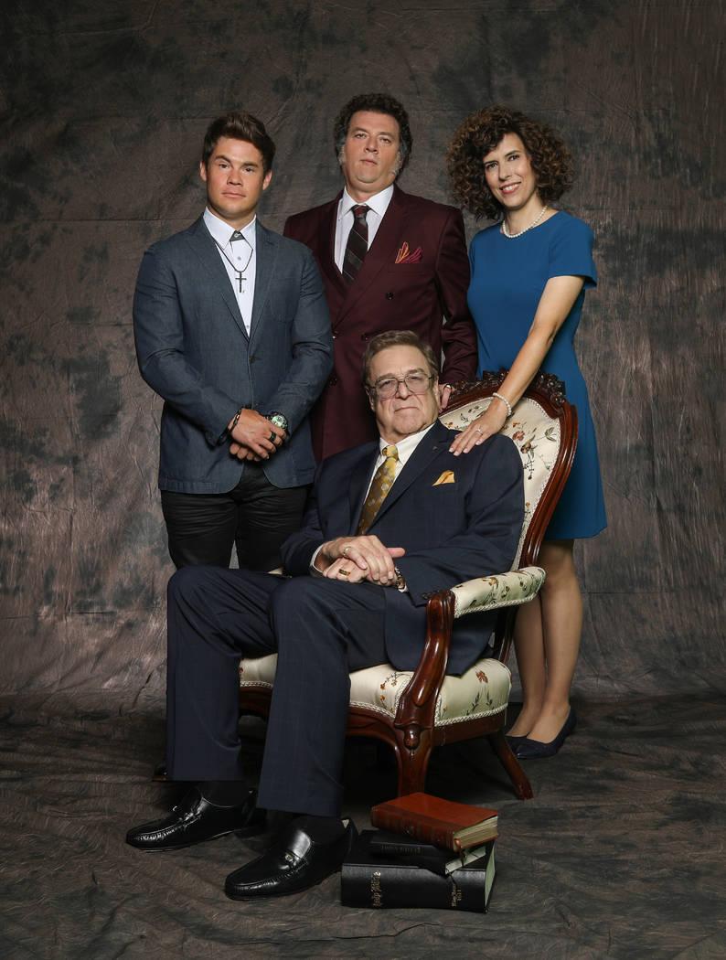 "Adam Devine, Danny McBride, John Goodman, Edi Patterson in ""The Righteous Gemstones."" (Fred Nor ..."