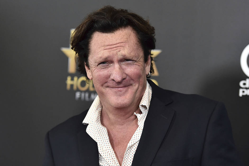In this Nov. 1, 2015 file photo, Michael Madsen arrives at the Hollywood Film Awards at the Bev ...