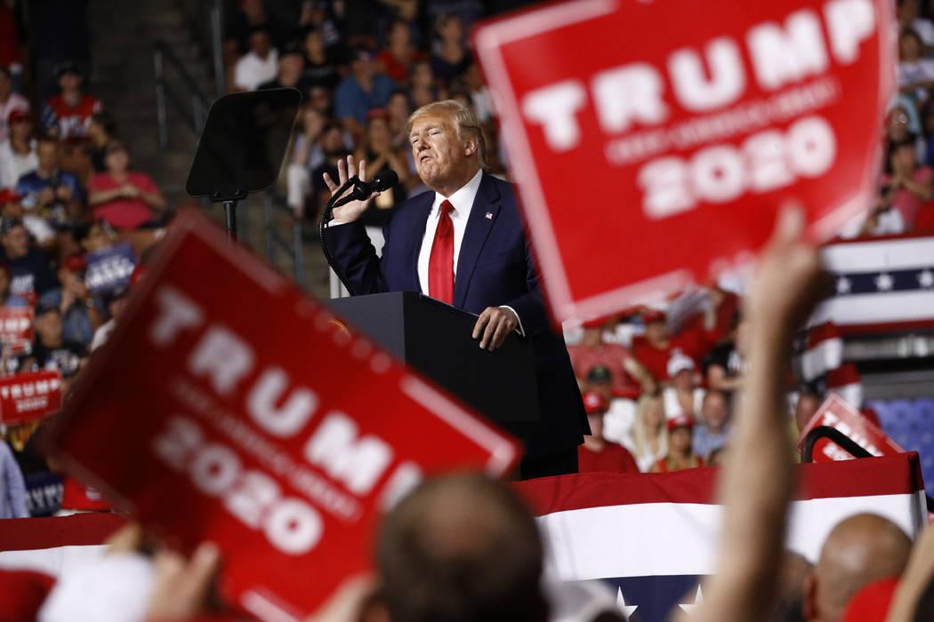 Trump ties US economic success to winning 2nd term | Las