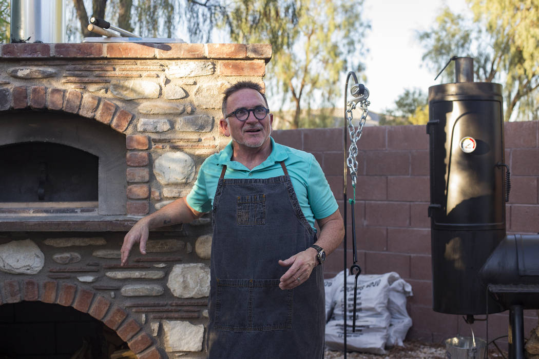 Rick Moonen, a celebrity chef known for his expertise in seafood and early adoption of sustaina ...