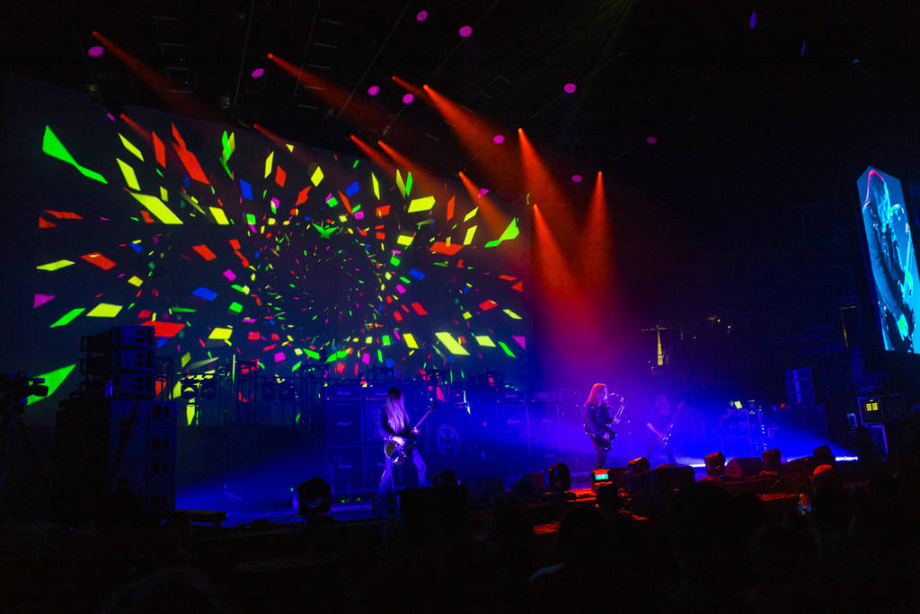 Electric Wizard performs at the Mandalay Bay Events Center during the Psycho Las Vegas music fe ...