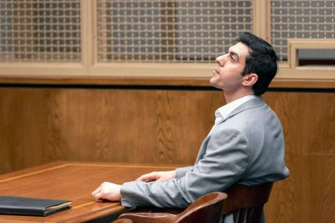 Defendant Hossein Nayeri sits in court following a guilty verdict in his trial, Friday, Aug. 16 ...