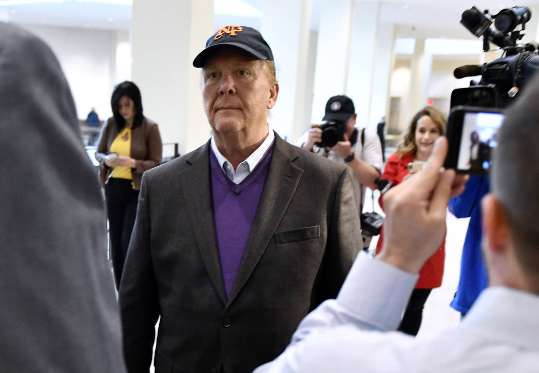 FILE - In this Friday, May 24, 2019, file photo, Mario Batali arrives for arraignment, at munic ...