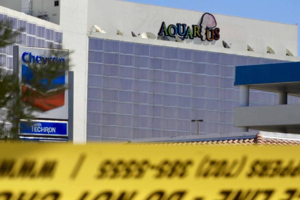 Las Vegas Metropolitan Police Department officers are investigating an officer-involved shootin ...