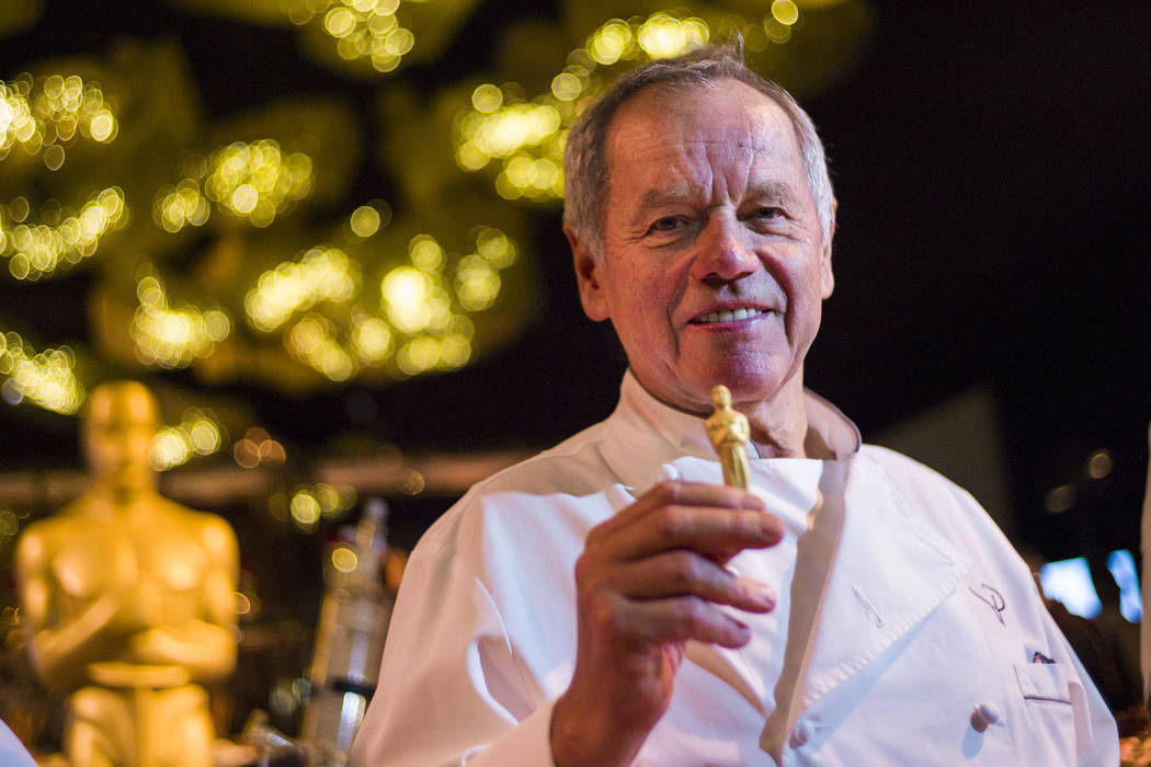 Chef Wolfgang Puck during a media preview for the 89th Academy Awards' Governors Ball in Hollyw ...