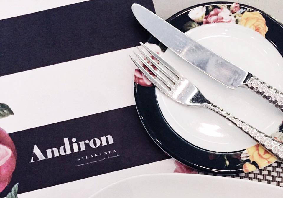 Andiron Steak & Sea in Downtown Summerlin will close for renovations. (Andiron)