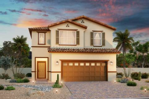 Laurel Place by Beazer Homes at Sausalito Drive and S. Racetrack Road in Henderson will open Au ...