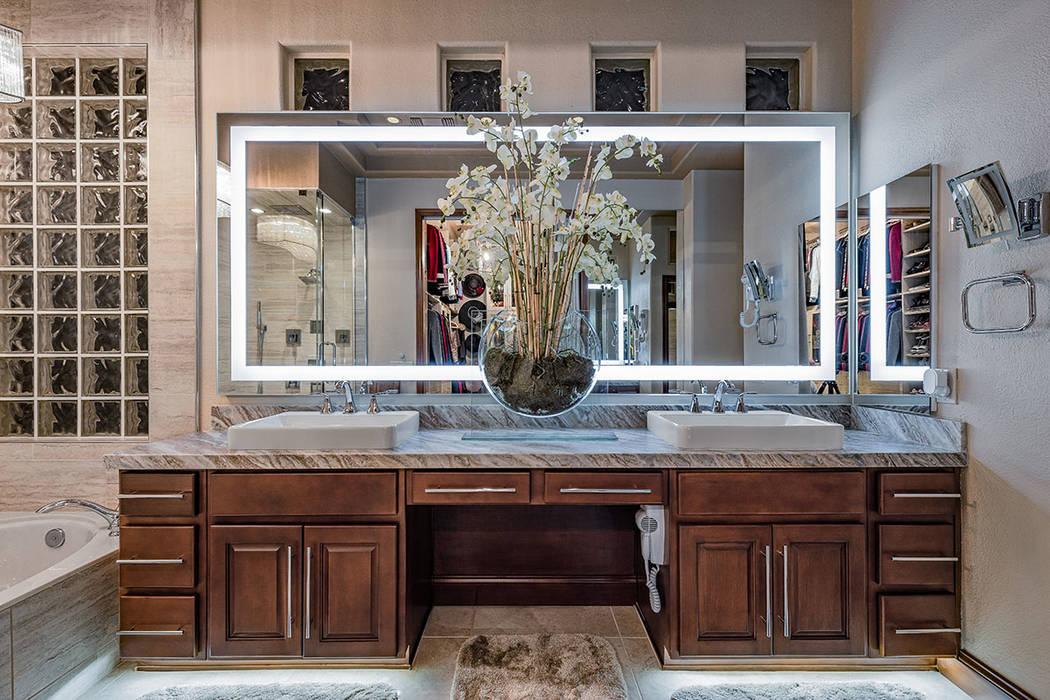 The master bath. (David Reisman Real Estate Millions)