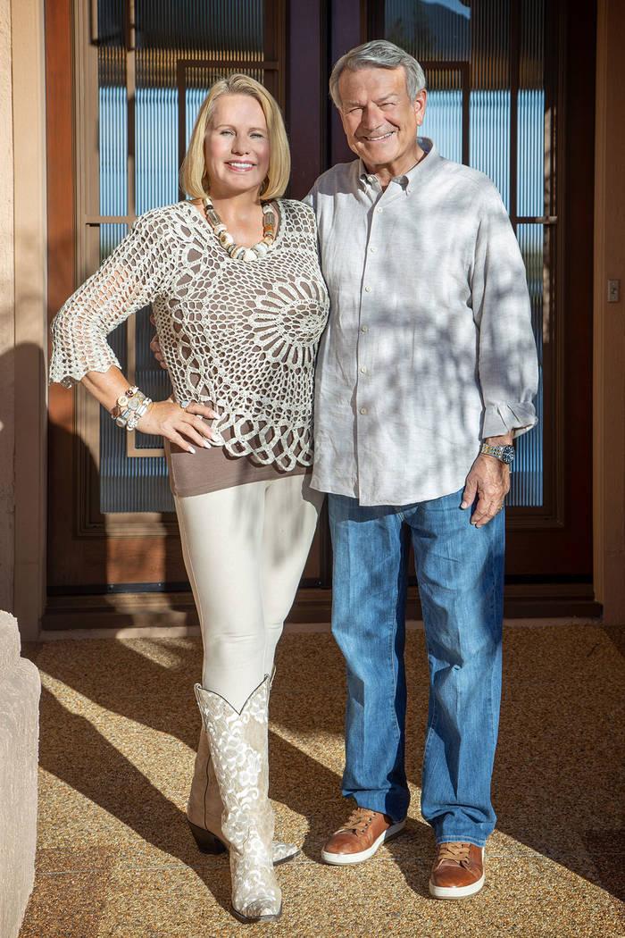 Robert Allen and Doralee Rae.( David Reisman Real Estate Millions)