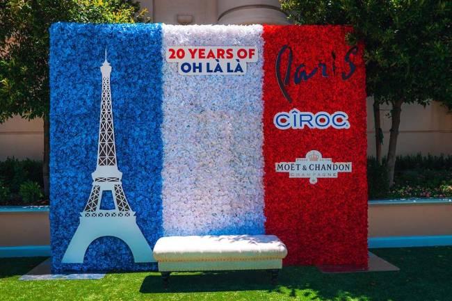 Bon anniversaire, Paris Las Vegas! (courtesy Caesars Entertainment)