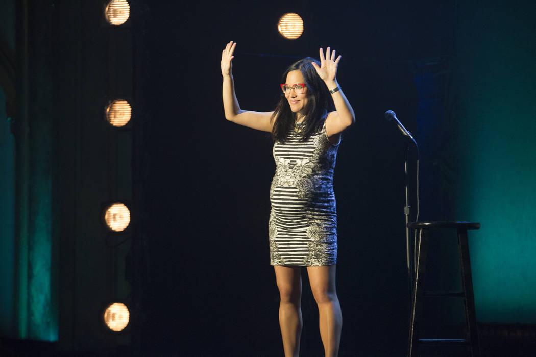 "Ali Wong in her Netflix special ""Baby Cobra"" (Alex Crick/Netflix)"