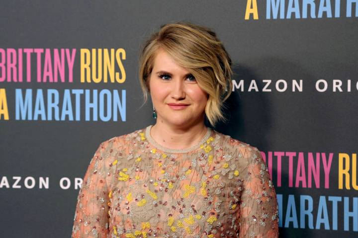 "Jillian Bell attends the LA Premiere of ""Brittany Runs a Marathon,"" at the Regal LA L ..."