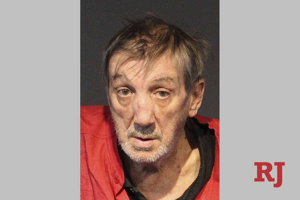 In this June 21, 2019 booking photo provided by Washoe County Sheriff's Office is Ralph Goad, 7 ...