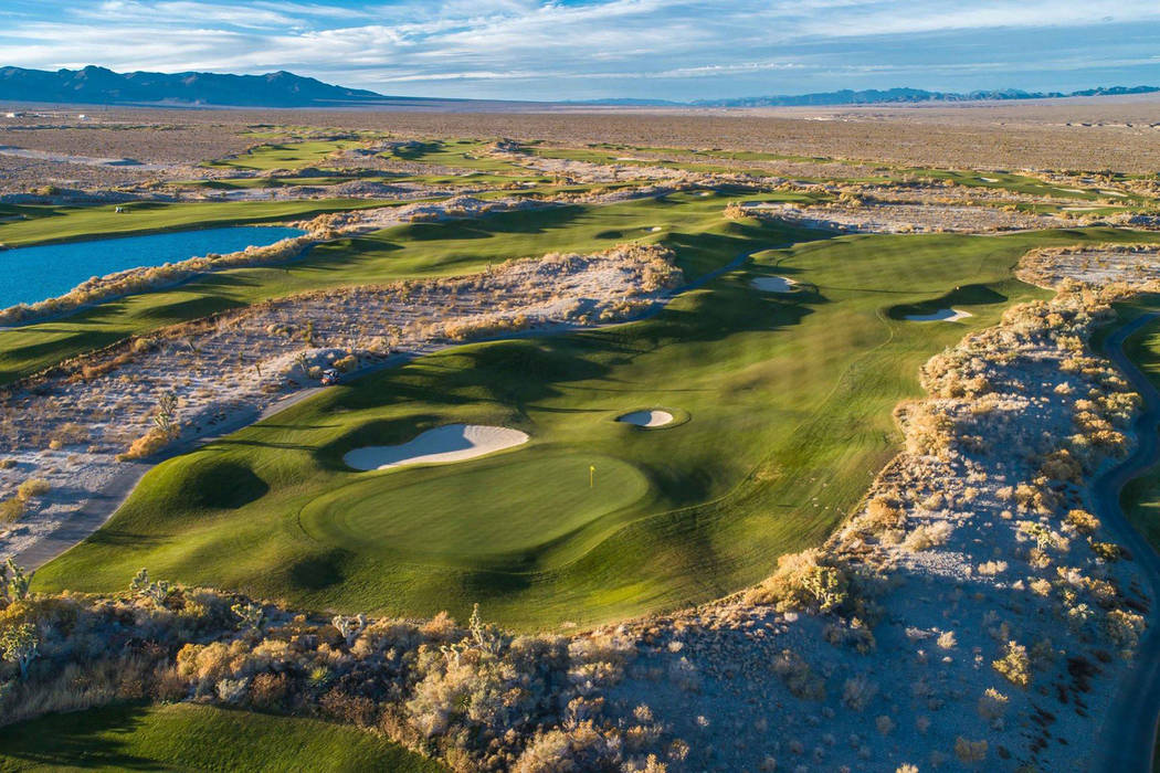 Two of the three Pete Dye courses at Las Vegas Paiute Golf Resort will remain open during the o ...