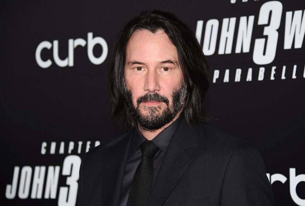 """In this May 9, 2019 file photo, actor Keanu Reeves attends the world premiere of """"John Wick: Ch ..."""
