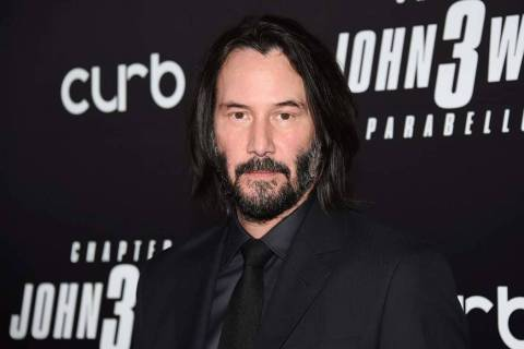 "In this May 9, 2019 file photo, actor Keanu Reeves attends the world premiere of ""John Wick: Ch ..."