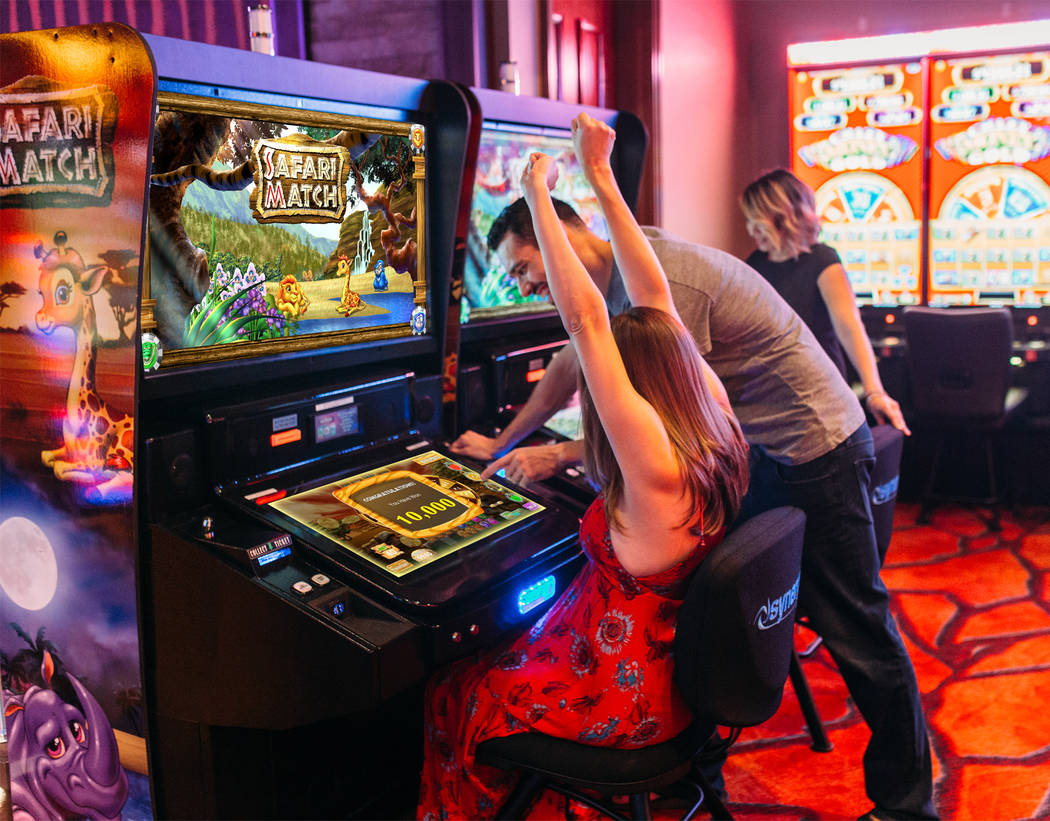 Synergy Blue, creator of arcade-style casino games such as Safari Casino, is relocating to Las ...