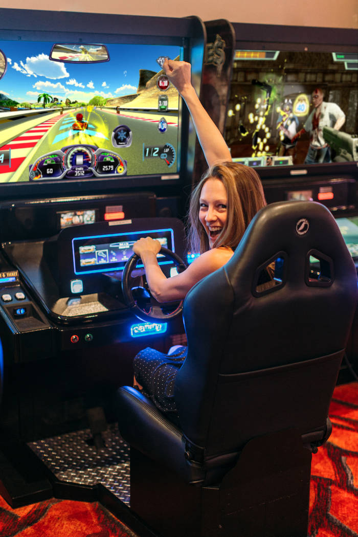 Synergy Blue makes skill-based arcade-style casino games, such as Lucky Karts. (Synergy Blue)