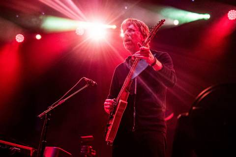 Trey Anastasio of Phish performs at the Bonnaroo Music and Arts Festival on Friday, June 14, 20 ...