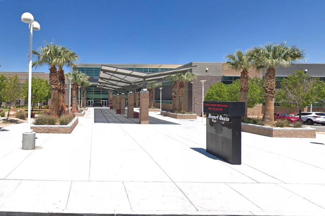 Desert Oasis High School (Google Streetview)